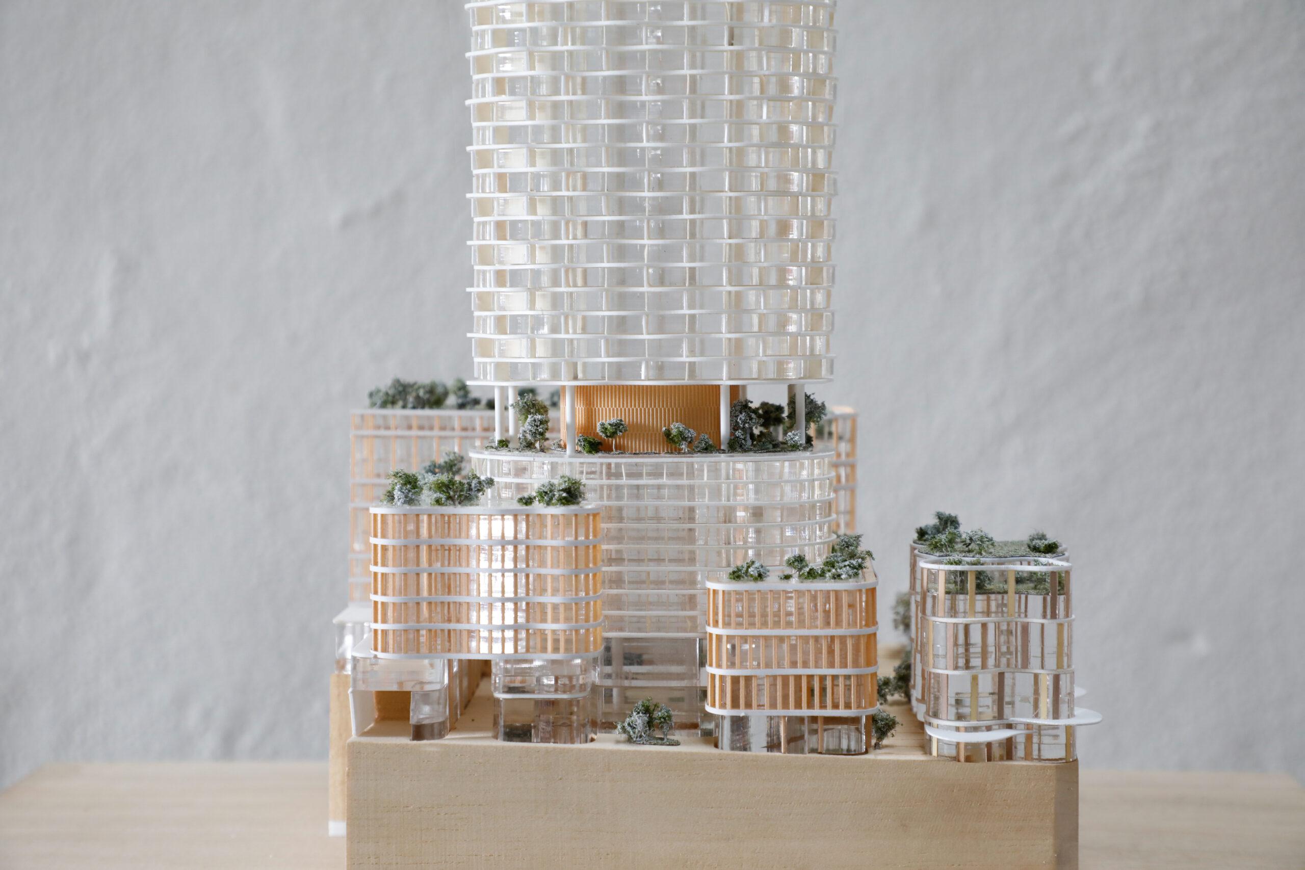 CRONE + Kohn Pedersen Fox Associates – 338 Pitt Street, 2017, 1:500