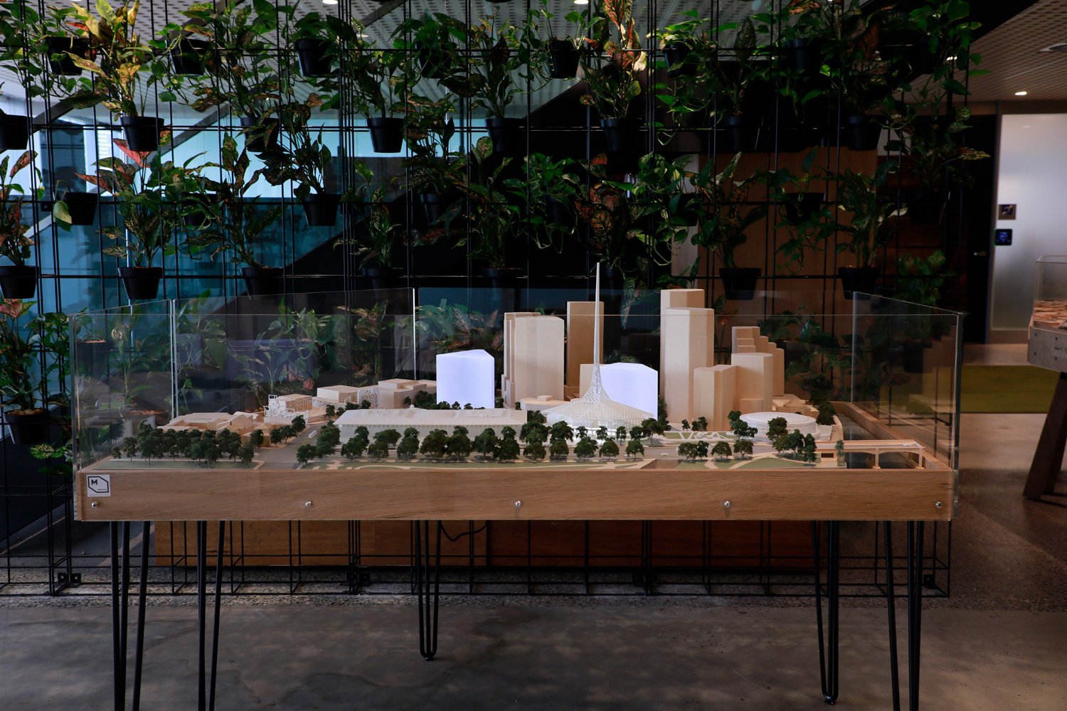 Both a Presentation and Exhibition Model for The National Gallery of Victoria at 1:500