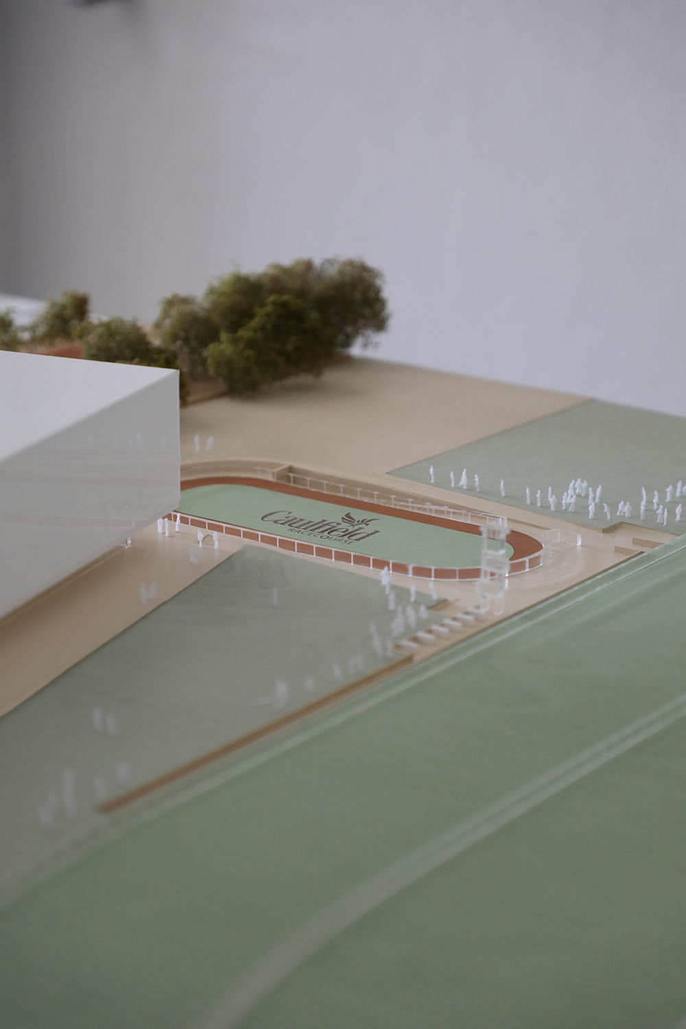 Timber Presentation Model for Hassel at 1:200.