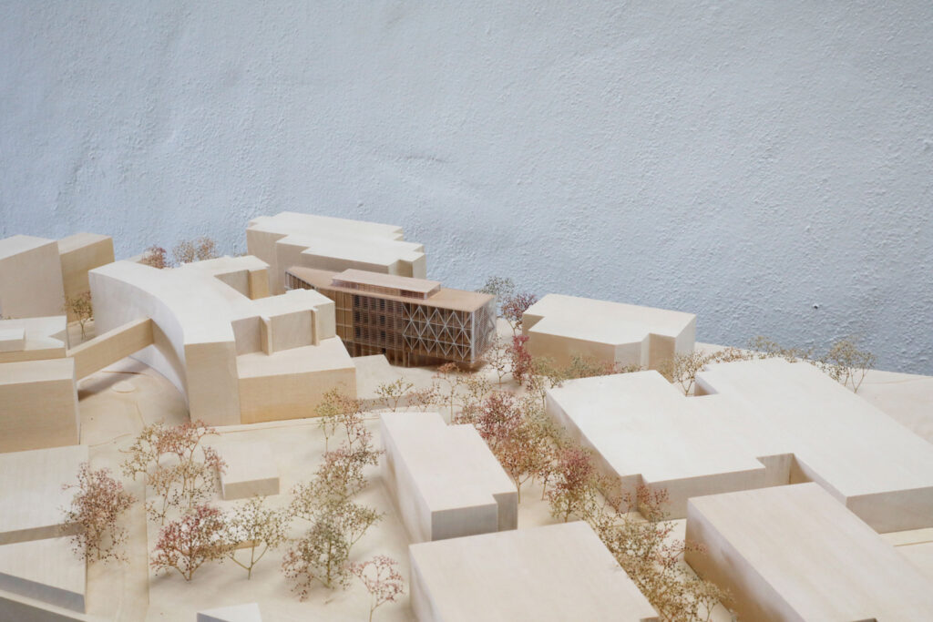Presentation Model for Architectus at 1:500 of Maqaurie University Health