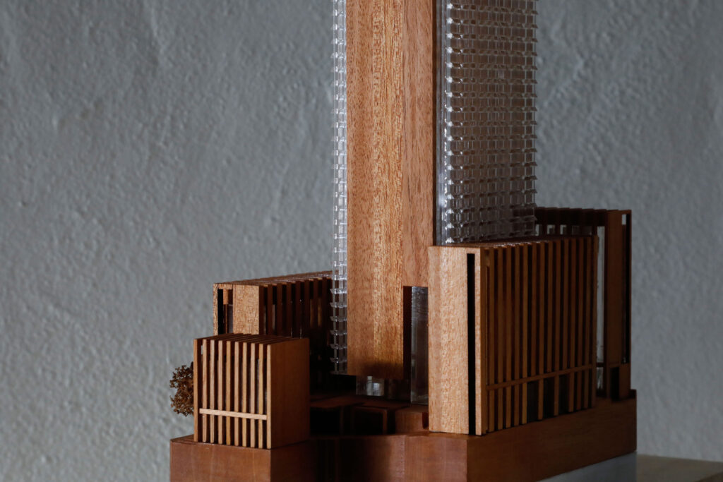 Timber Competition Model at 1:500