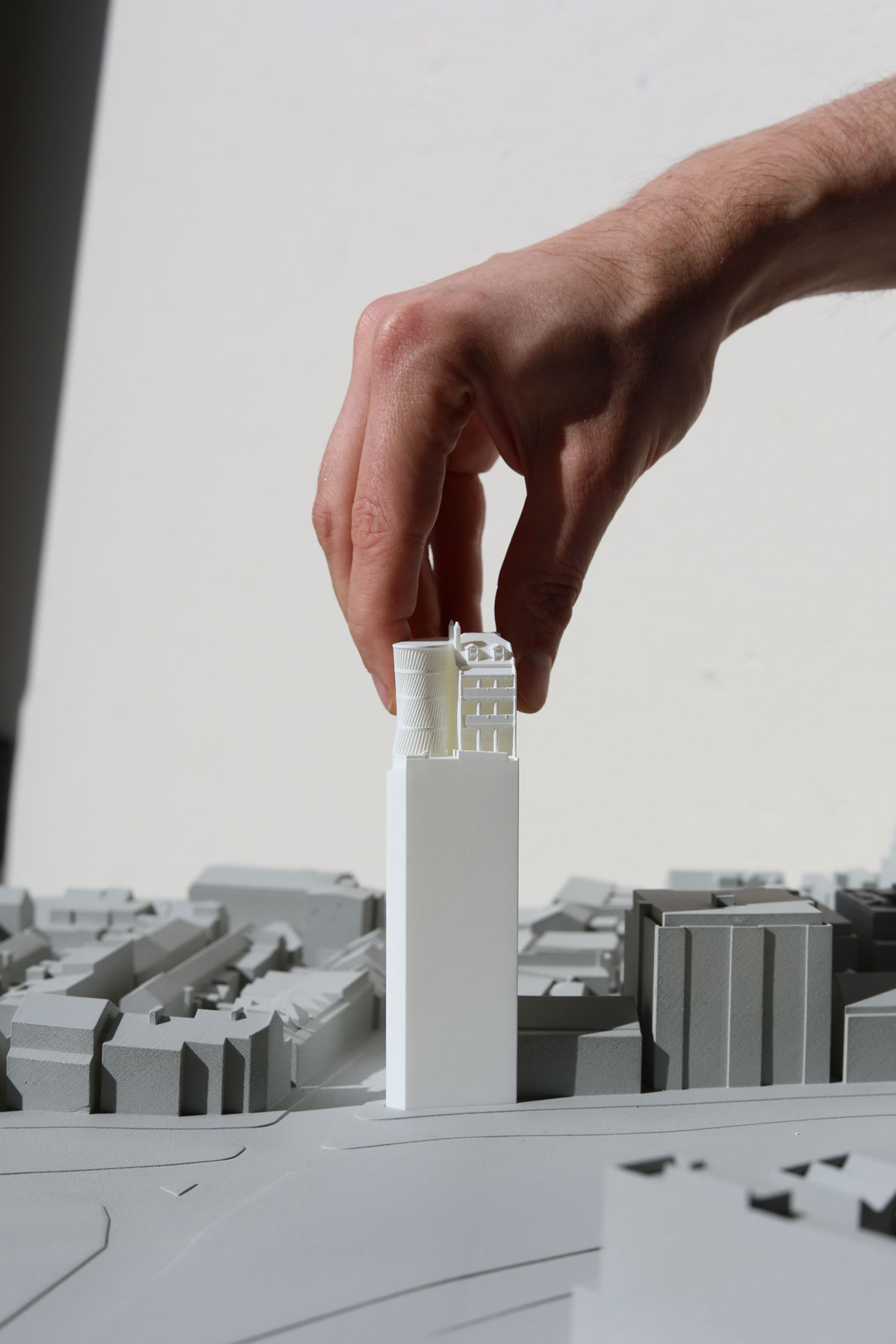 Scale Models for City of Sydney Development Applications.
